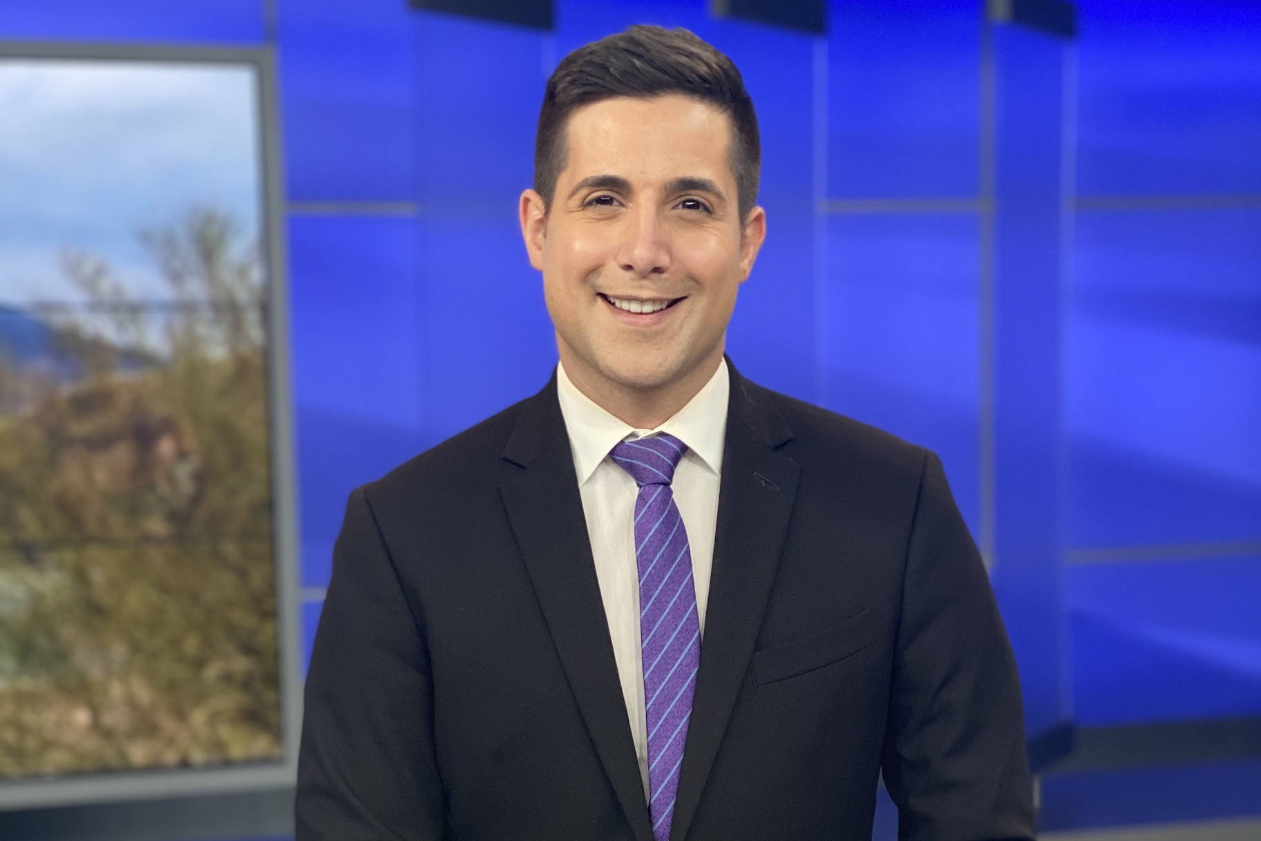 Nick Ciletti, News Anchor and Online MSL Student at USC Gould.